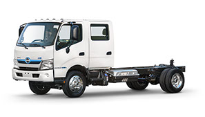 Hino 195 Hybrid Truck Chassis - Double Cab