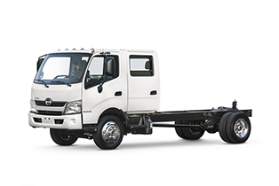 HINO TRUCKS CABOVER DOUBLE CAB