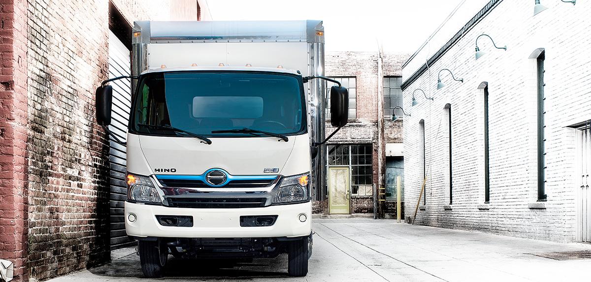Hino Trucks Hino 195h Hybrid Medium Duty Truck