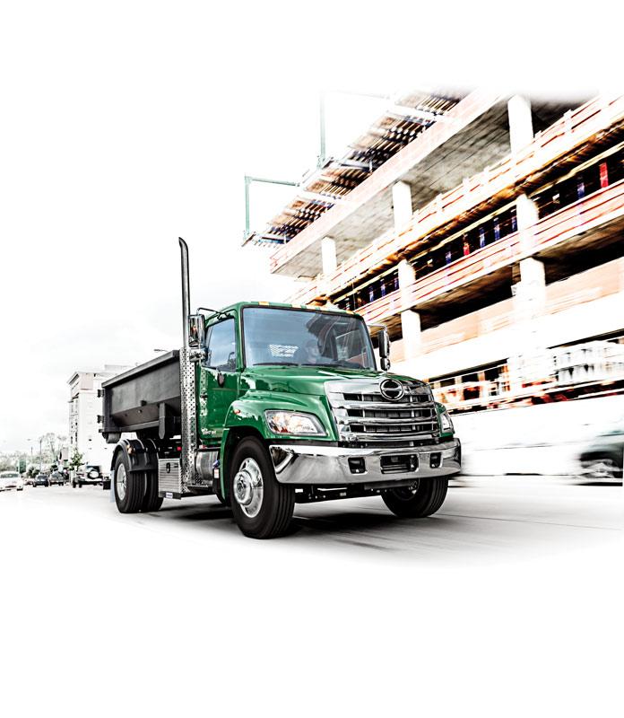 HINO TRUCKS - HINO 238 Medium Duty Truck
