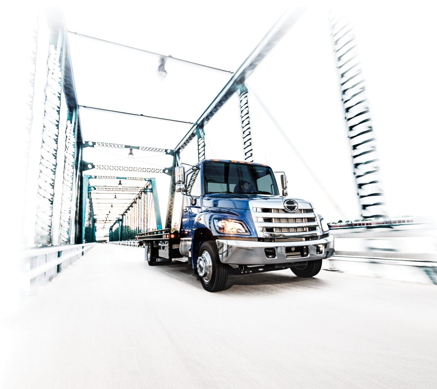 Toyota Truck Performance Parts HINO TRUCKS - HINO 258ALP Medium Duty Truck
