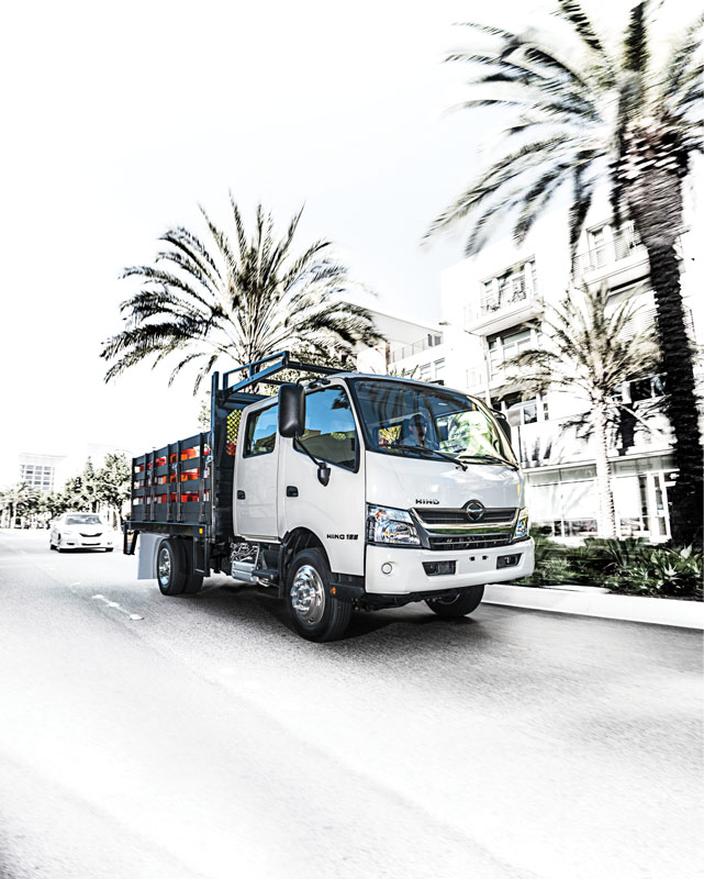 Hino Trucks Hino 155 Double Cab Light Duty Truck