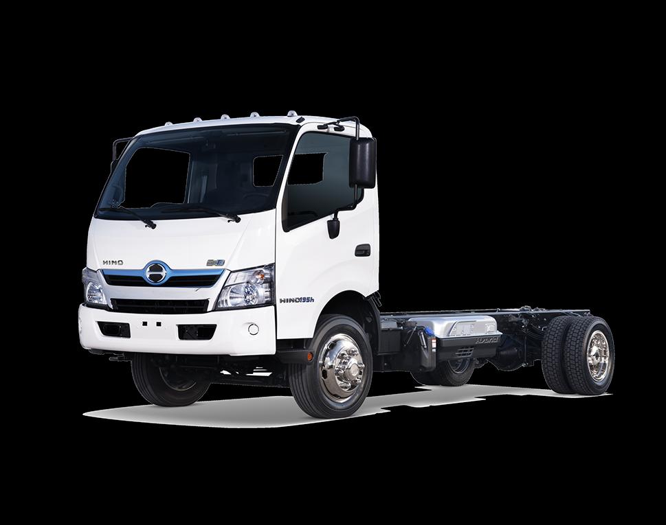 HINO TRUCKS - HINO 195h Hybrid Medium Duty Truck